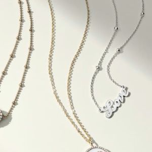Jewelry - NWT! Sterling Silver Love Script Necklace